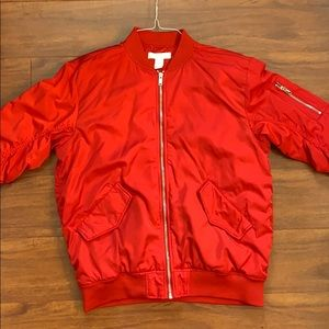 H&M Bomber jacket WORN ONCE! Brand new!